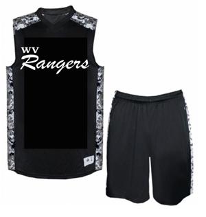 WV Rangers - Black Jersey