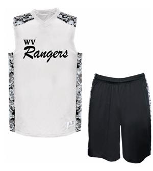WV Rangers - White Jersey